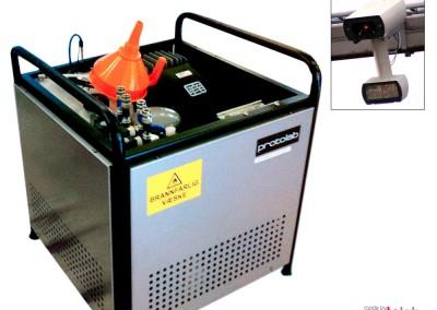 Vaskesystem for veikamera